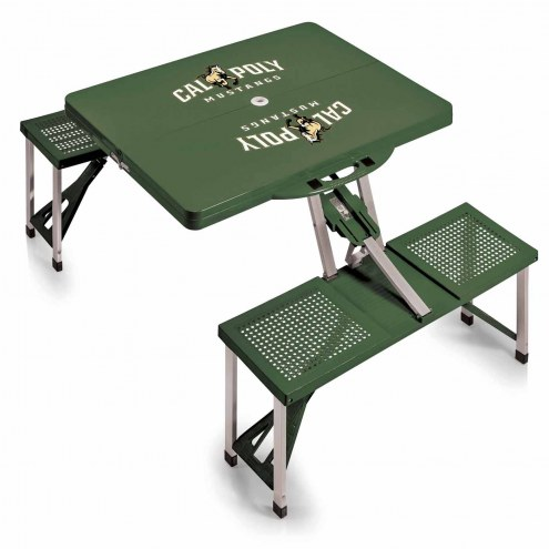 California Polytechnic State Mustangs Folding Picnic Table