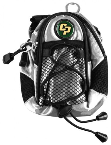 California Polytechnic State Mustangs Silver Mini Day Pack
