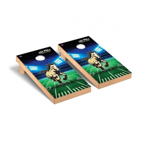 California Polytechnic State Mustangs Stadium Cornhole Game Set