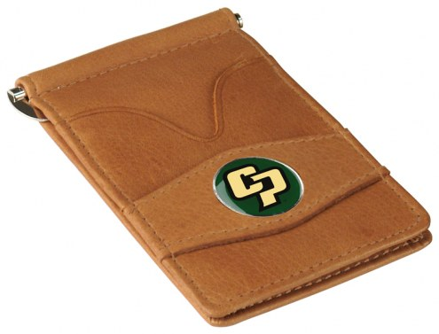 California Polytechnic State Mustangs Tan Player's Wallet