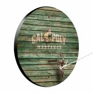 California Polytechnic State Mustangs Weathered Design Hook & Ring Game