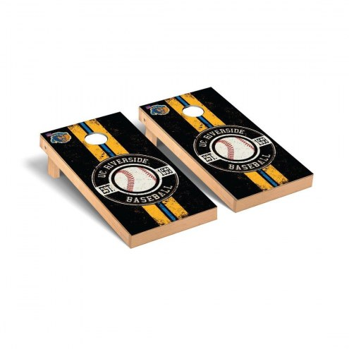 California Riverside Highlanders Baseball Cornhole Game Set