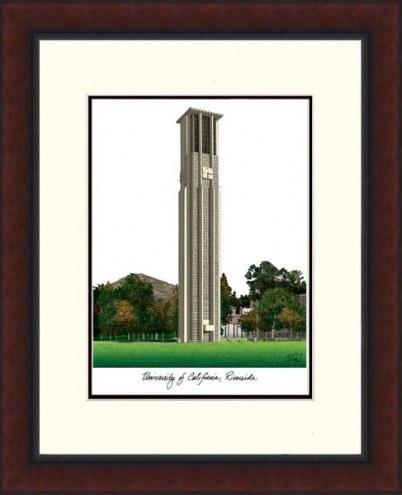 California Riverside Highlanders Legacy Alumnus Framed Lithograph