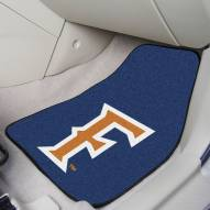 California State Fullerton Titans 2-Piece Carpet Car Mats