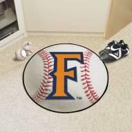 California State Fullerton Titans Baseball Rug