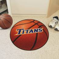 California State Fullerton Titans Basketball Mat