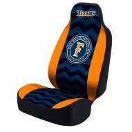 California State Fullerton Titans Blue/Orange Zig Zag Universal Bucket Car Seat Cover