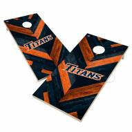 California State Fullerton Titans Herringbone Cornhole Game Set
