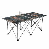 California State Fullerton Titans Pop Up 6' Ping Pong Table