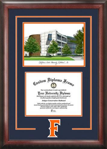 California State Fullerton Titans Spirit Diploma Frame with Campus Image