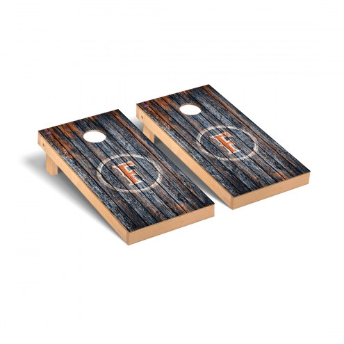California State Fullerton Titans Weathered Cornhole Game Set