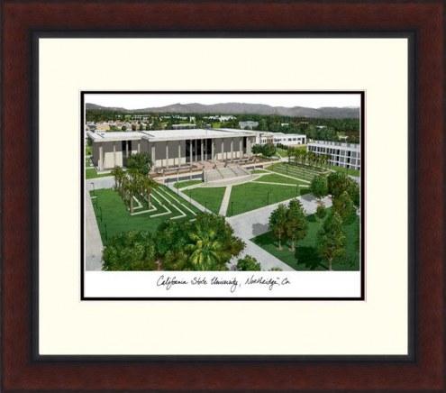 California State Northridge Matadors Legacy Alumnus Framed Lithograph