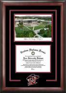 California State Northridge Matadors Spirit Diploma Frame with Campus Image