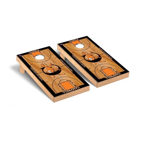 Campbell Fighting Camels Basketball Cornhole Game Set