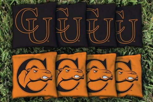 Campbell Fighting Camels Cornhole Bag Set