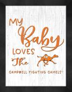 Campbell Fighting Camels My Baby Loves Framed Print