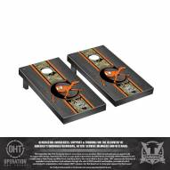 Campbell Fighting Camels Operation Hat Trick Onyx Stained Cornhole Game Set