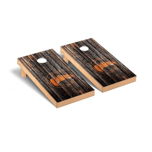 Campbell Fighting Camels Weathered Cornhole Game Set