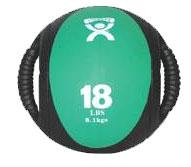 Cando Dual Handle 18lb Medicine Ball