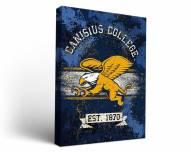 Canisius Golden Griffins Banner Canvas Wall Art