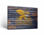 Canisius Golden Griffins Weathered Canvas Wall Art