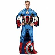 Captain America Full Body Comfy Throw Blanket