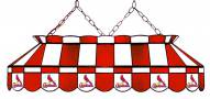 """St. Louis Cardinals MLB Team 40"""" Rectangular Stained Glass Shade"""