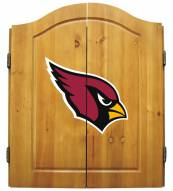 Arizona Cardinals NFL Complete Dart Board Cabinet Set (w/ darts & flights)