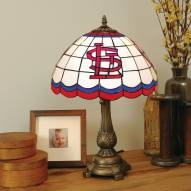 St. Louis Cardinals MLB Stained Glass Table Lamp