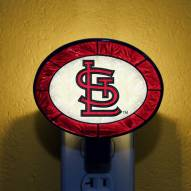 St. Louis Cardinals MLB Stained Glass Night Light