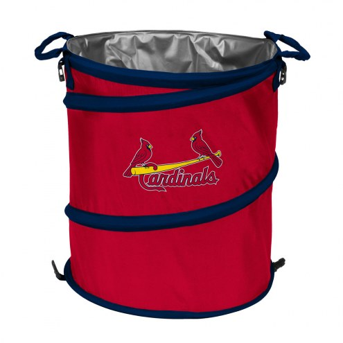 St. Louis Cardinals MLB Collapsible Trashcan