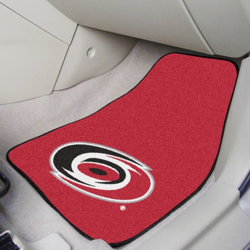 Carolina Hurricanes 2-Piece Carpet Car Mats