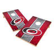 Carolina Hurricanes 2' x 3' Vintage Wood Cornhole Game