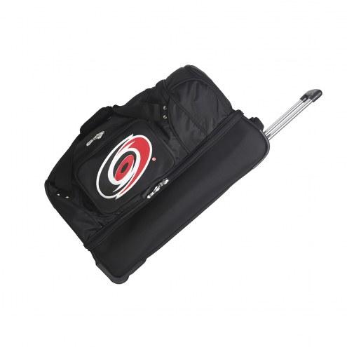 "Carolina Hurricanes 27"" Drop Bottom Wheeled Duffle Bag"