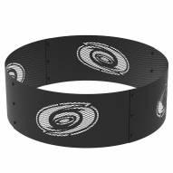 "Carolina Hurricanes 36"" Round Steel Fire Ring"