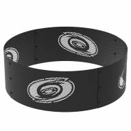 "Carolina Hurricanes 36"" Round Steel Fire Ring"