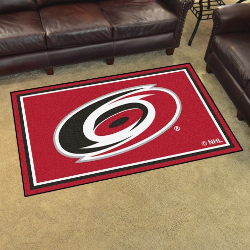 Carolina Hurricanes 4' x 6' Area Rug