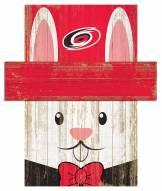 "Carolina Hurricanes 6"" x 5"" Easter Bunny Head"