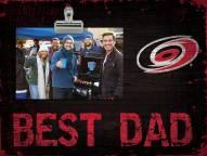 Carolina Hurricanes Best Dad Clip Frame