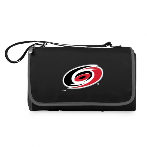Carolina Hurricanes Black Blanket Tote