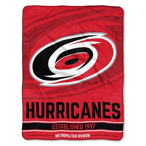 Carolina Hurricanes Break Away Blanket