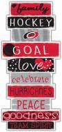 Carolina Hurricanes Celebrations Stack Sign