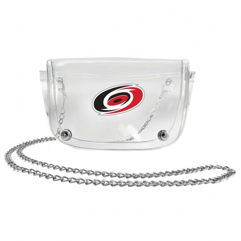 Carolina Hurricanes Clear Waistpack