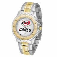 Carolina Hurricanes Competitor Two-Tone Men's Watch