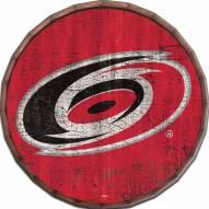 """Carolina Hurricanes Cracked Color 24"""" Barrel Top"""