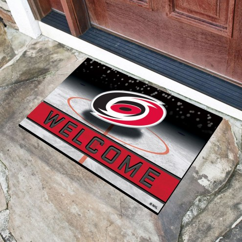 Carolina Hurricanes Crumb Rubber Door Mat