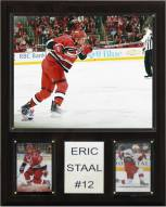 """Carolina Hurricanes Eric Staal 12"""" x 15"""" Player Plaque"""