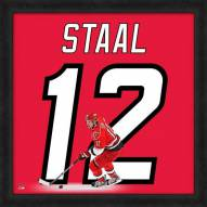 Carolina Hurricanes Eric Staal Uniframe Framed Jersey Photo