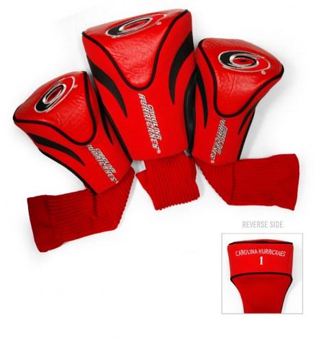 Carolina Hurricanes Golf Headcovers - 3 Pack