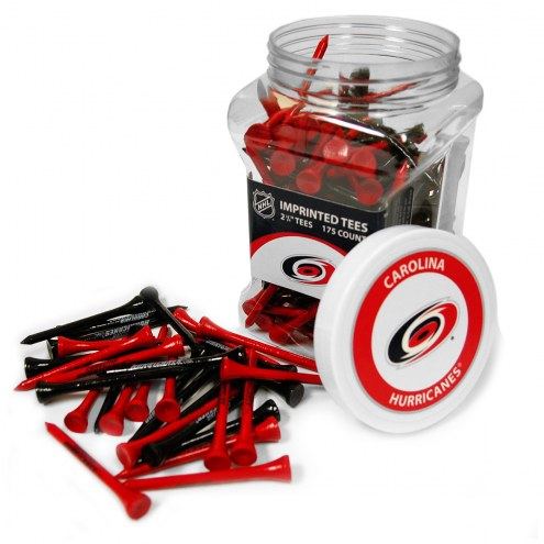 Carolina Hurricanes 175 Golf Tee Jar